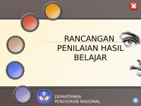 Rancangan Penilaian Hasil Belajar.ppt