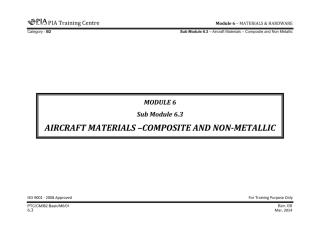 Module 6 (Materials & Hardware) SubModule 6.3 (Aircraft Materials — Composite and Non-Metallic).pdf