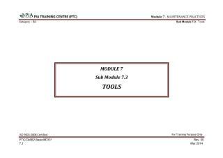 Module 7 (Maintenance Practices) Sub Module 7.3 (Tools).pdf