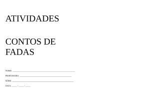 Atividade - Português - Contos - Livro.docx