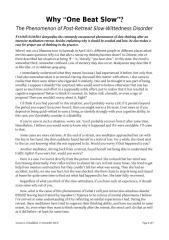 Post retreat slow wit disorder_ven kumara_revised.pdf