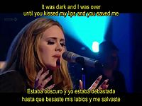 Adele-Set Fire To The Rain-Subtitulada Traducida Español Inglés Lyrics Live.mp4