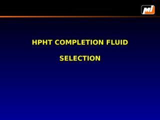 Final  Completion Fluids.ppt