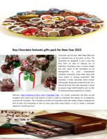 Buy Chocolate fantastic gifts pack for New Year 2015.pdf