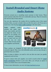 Install Branded and Smart Home Audio Systems.pdf