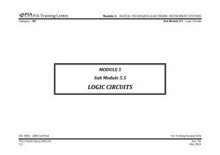 B2 Module 5 (Digital Techniques & Electronic Instrument System) Sub Module 5.5 (Logic Circuits) Rev 00.pdf