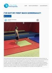 Tips To Perform Back Somersault Perfectly By Osteopath Hornsby.pdf