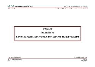 Module 7 (Maintenance Practices) Sub Module 7.5 (Engineering Drawings, Diagrams & Standards) Edited.pdf