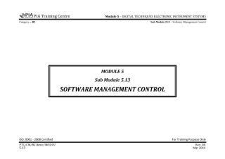 B2 Module 5 (Digital Techniques & Electronic Instrument System) Sub Module 5.13 (Software Manage) Rev 00.pdf