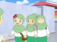 Cerita dan Lagu Anak Islam - Ucapkan Salam.avi