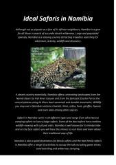 Ideal Safaris in Namibia.pdf