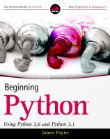 Wrox.Beginning.Python.Using.Python.2.6.and.Python.3.1.Feb.2010.pdf