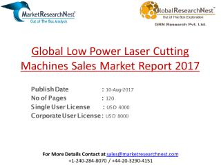 Global Low Power Laser Cutting Machines Sales Market Report 2017.pdf