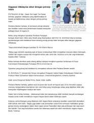 Gagasan 1Malaysia selari dengan prinsip Islam.doc