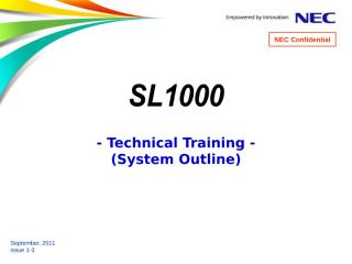 [1] SL1000 Training (System Overview) 1-3.ppt