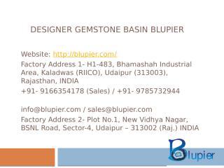 Designer Gemstone Basin Blupier.pptx