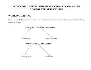 short term financing.doc