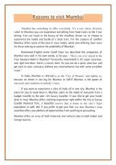 Reasons to Visit Mumbai.pdf