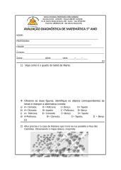 avaliação diagnóstica matemática 5º ano.docx