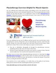 Physiotherapy Exercises Helpful For Muscle Injuries.pdf